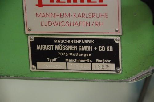 Ленточнопильный станок по металлу - вертик. MÖSSNER SM 420 112327 фото на Industry-Pilot