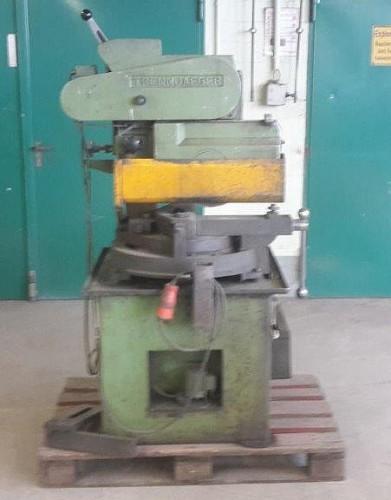 Circular saw - for aluminium, plastic, wood TRENNJÄGER UNI-16-8-HS фото на Industry-Pilot