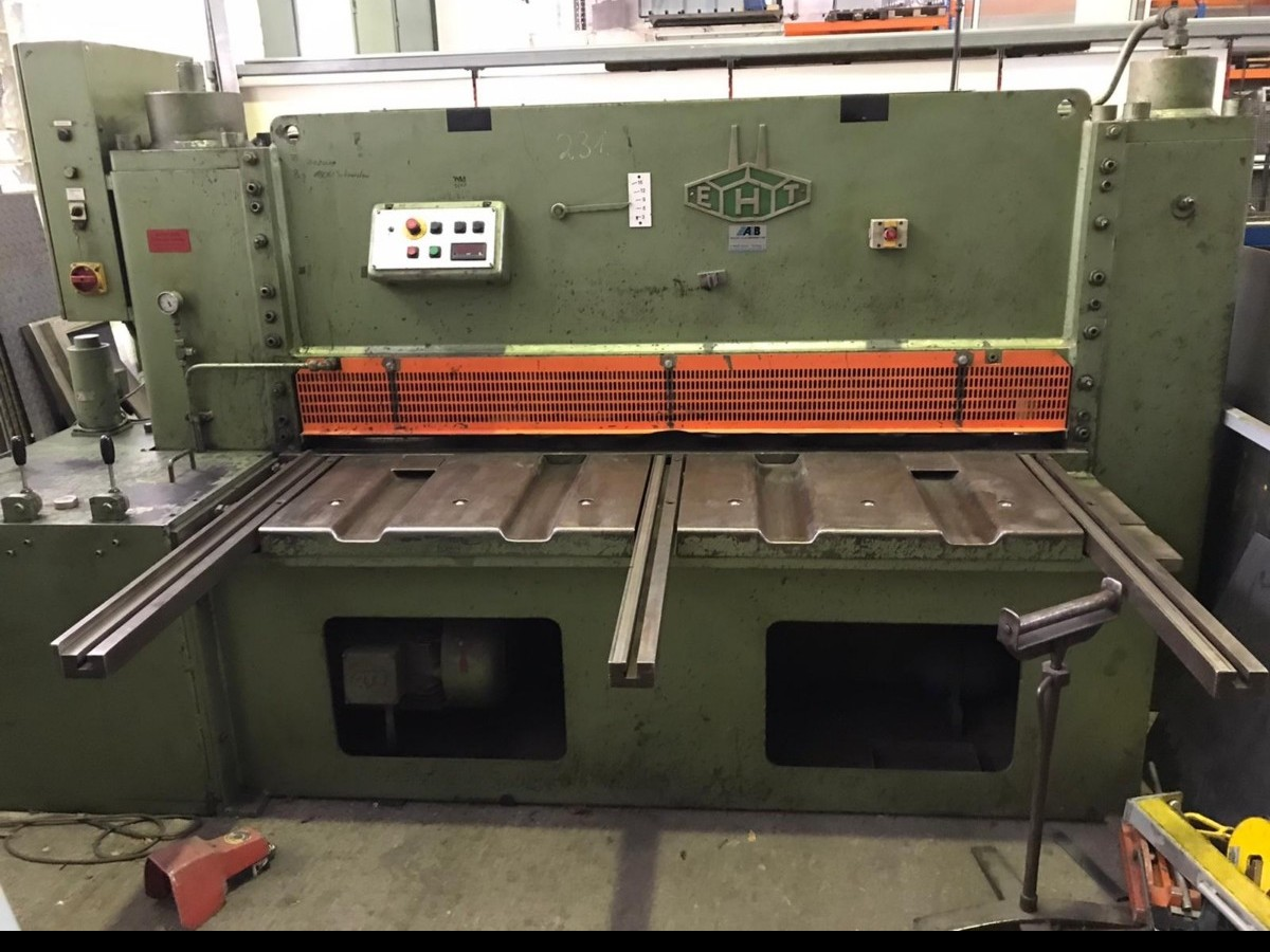 Hydraulic guillotine shear  EHT EHS 16-20 photo on Industry-Pilot