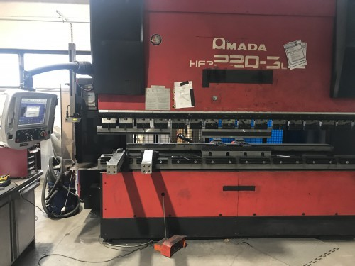 Press Brake hydraulic AMADA HFP 220-3 L photo on Industry-Pilot