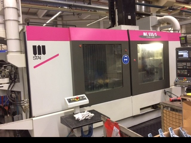 Machining Center - Vertical STAMA MC 535/S photo on Industry-Pilot