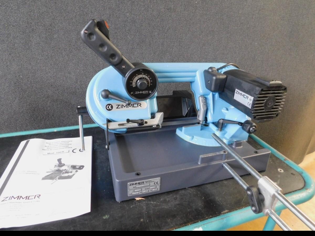 Ленточнопильный станок по металлу - гориз. полуавтоматический ZIMMER Z 100/R Heidenhain фото на Industry-Pilot
