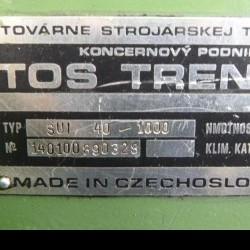 Screw-cutting lathe TOS SUI 40-1000 фото на Industry-Pilot