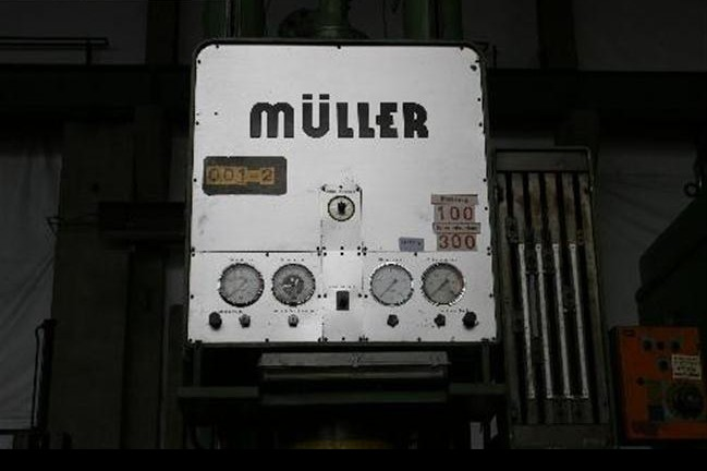 Drawing Press - Single column - Hydraulic MÜLLER CAZ 250.3.1 photo on Industry-Pilot