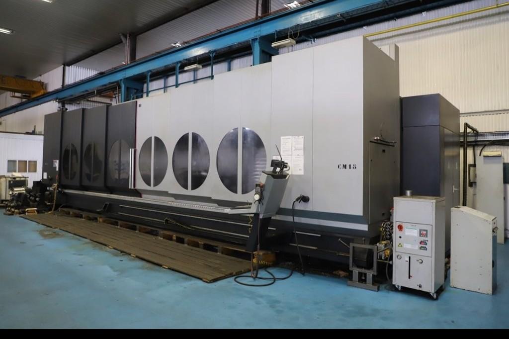 Machining Center - Vertical IBARMIA ZVH55/L8000 фото на Industry-Pilot