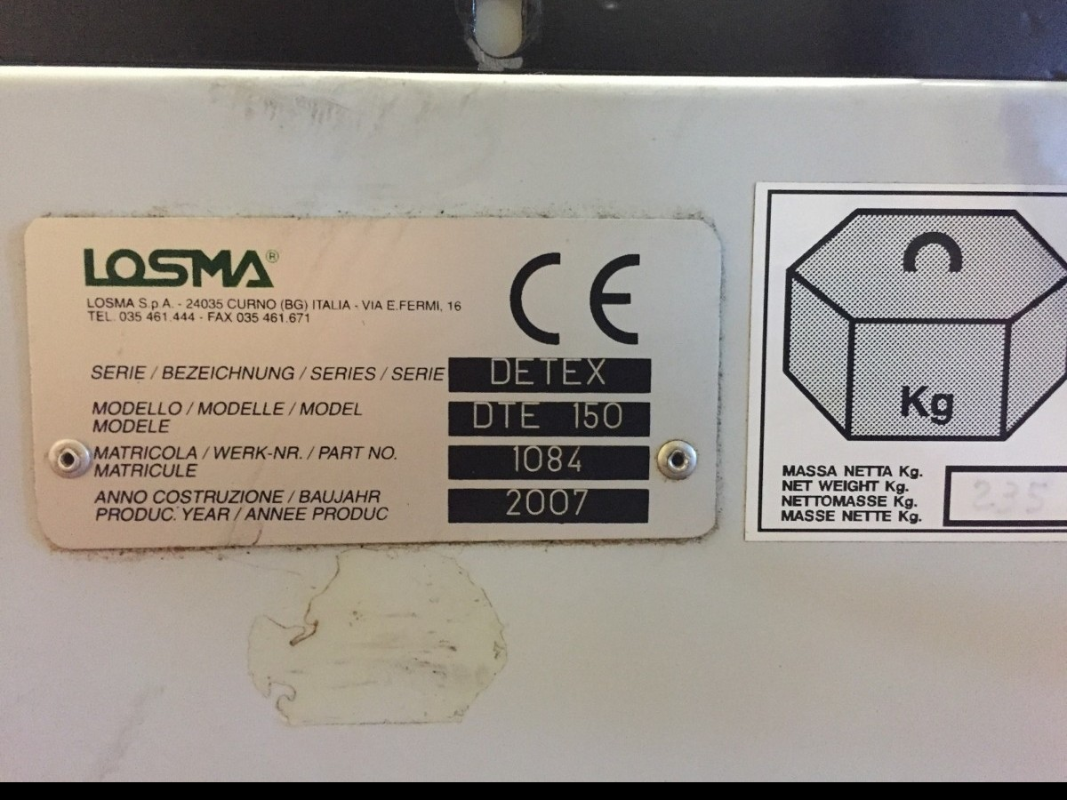 Cooling system LOSMA Detex DTE 150 photo on Industry-Pilot