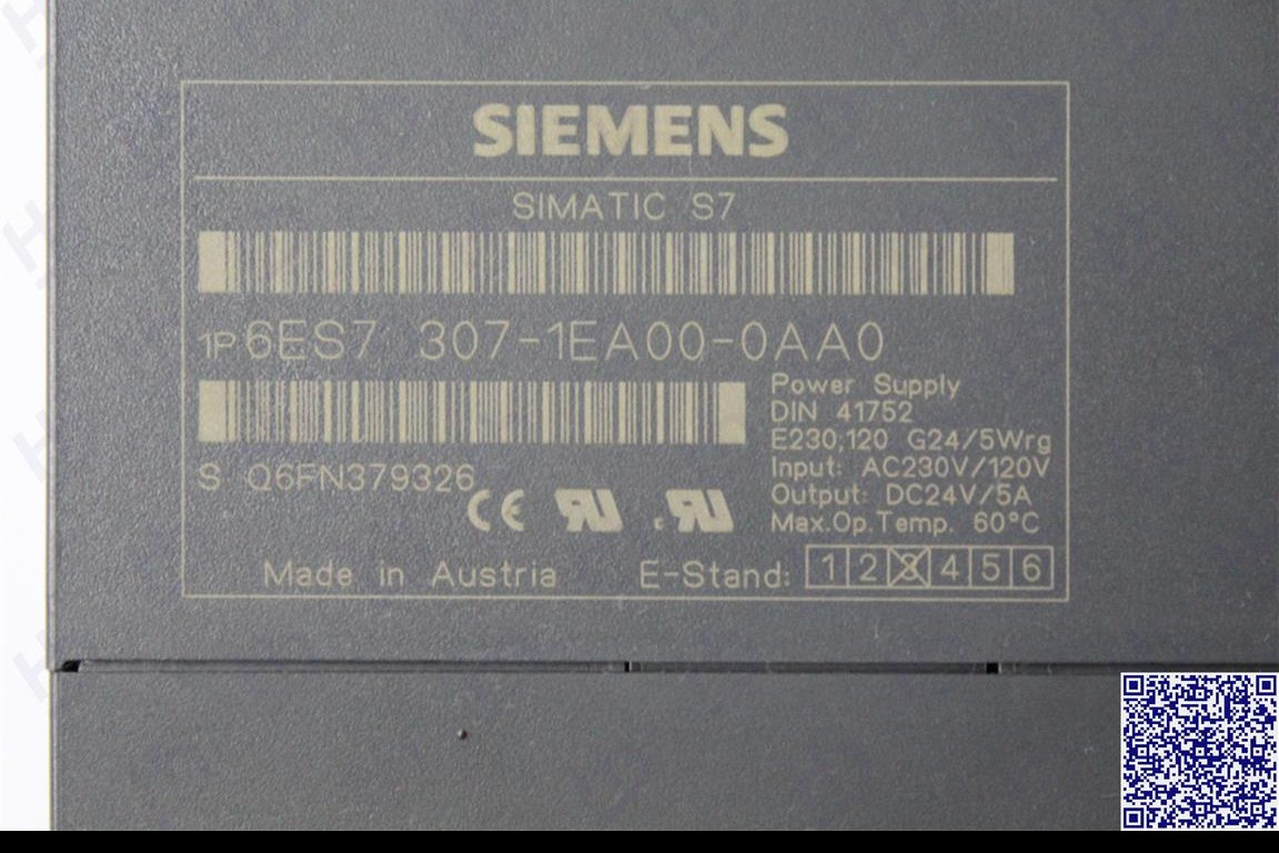 Simatic SIEMENS 6ES7307-1EA00-0AA0 фото на Industry-Pilot