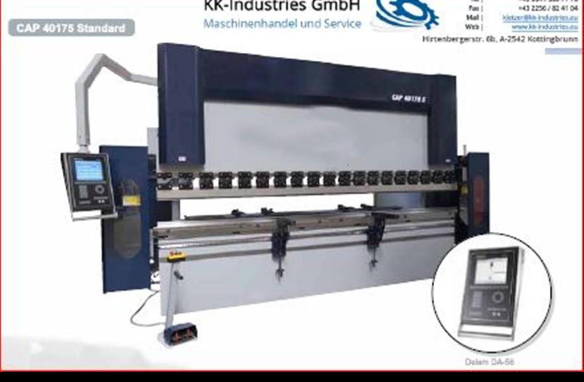 Листогибочный пресс - гидравлический KK-Industries CNC 30320 4 Осей (Y1-Y2-X-R Axis) фото на Industry-Pilot