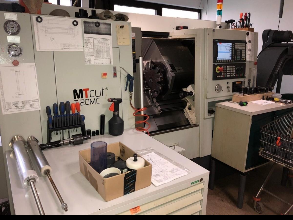 CNC Turning Machine MT Rent MT cut T 20 MC фото на Industry-Pilot