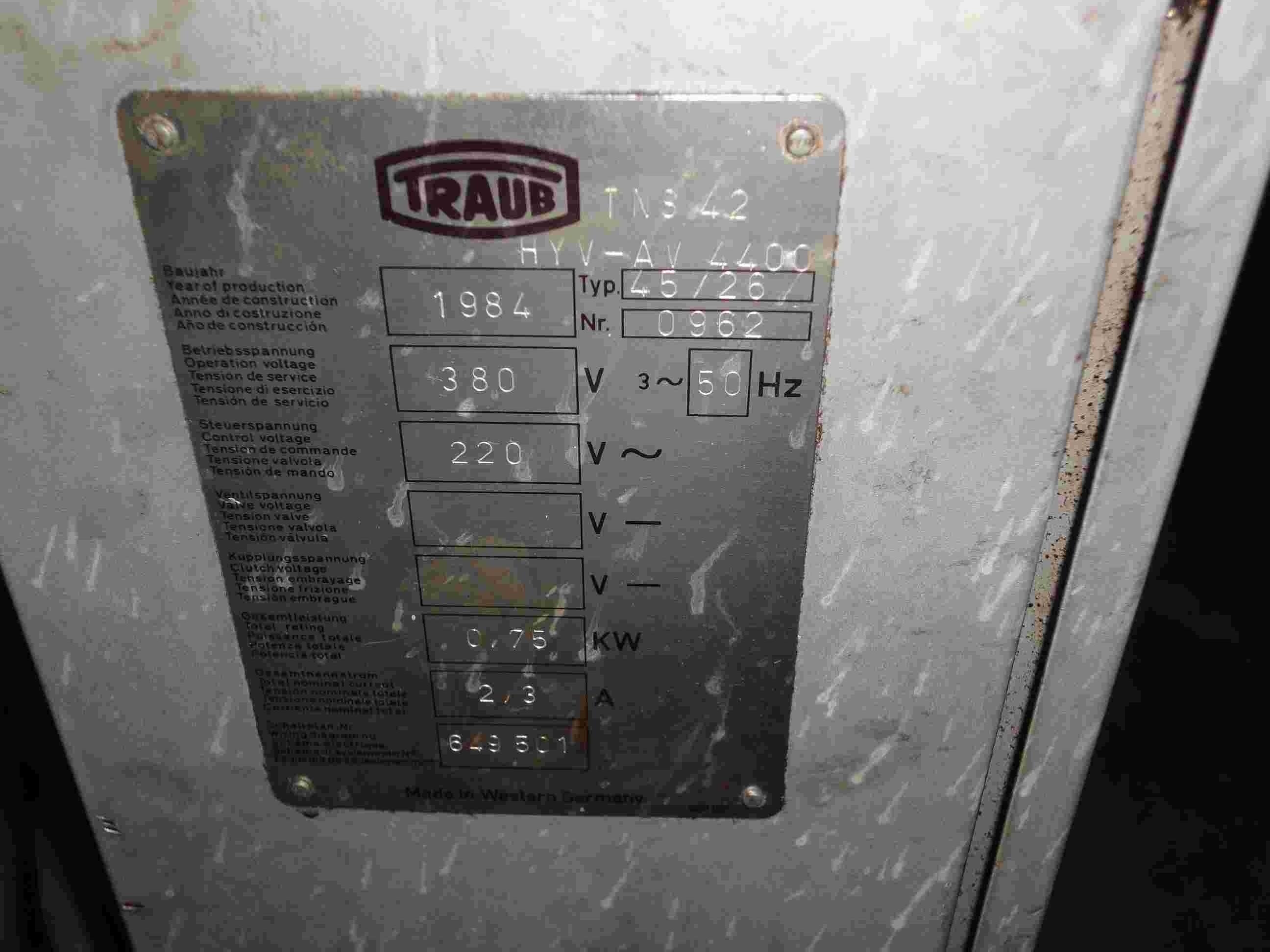 Податчик прутка TRAUB 45/26 фото на Industry-Pilot