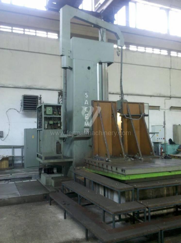 Горизонтальный расточный станок с неподвижной плитой Sacem MSPC 130/600 C/C4 фото на Industry-Pilot