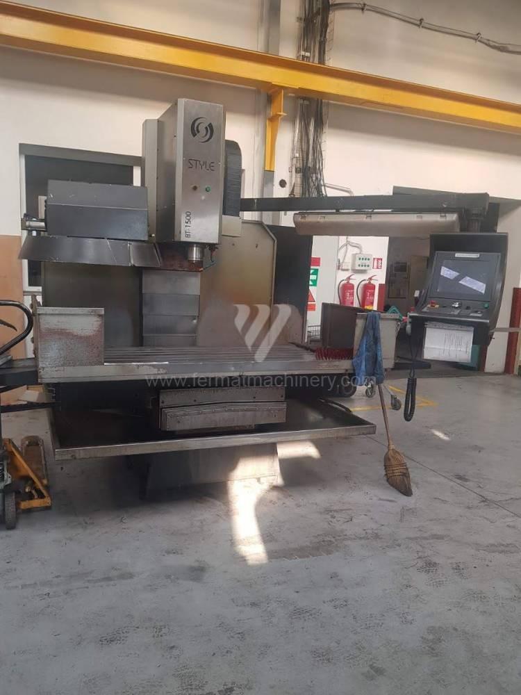 Консольно-фрезерный станок STYLE CNC Machines CZ, s.r.o. BT 1500 CNC фото на Industry-Pilot