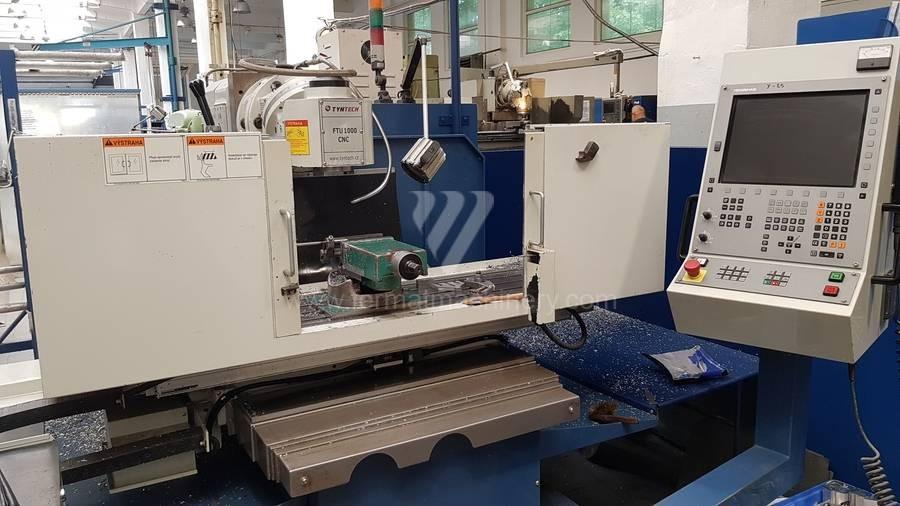 Консольно-фрезерный станок Unknown FTU 1000 CNC фото на Industry-Pilot