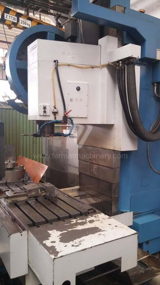 Bed Type Milling Machine - Universal TOS KURIM - OS, a.s. FCQV 63 NC photo on Industry-Pilot