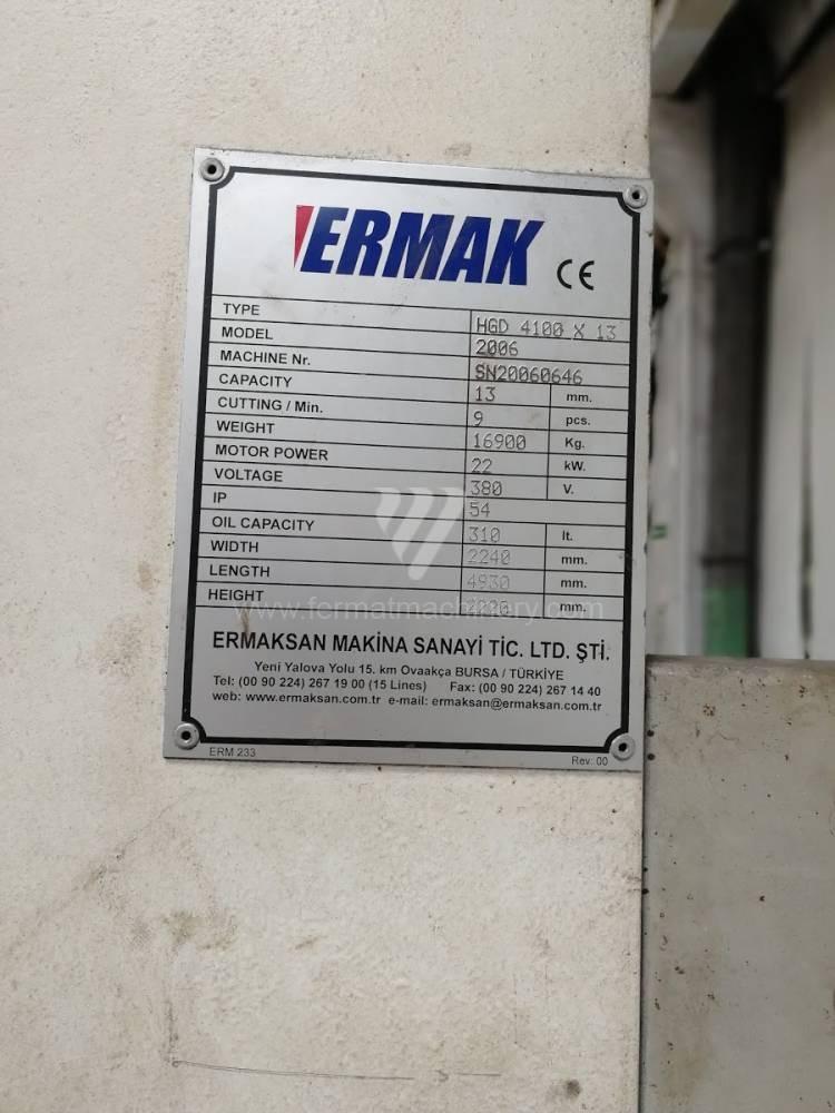 Гидравлические гильотинные ножницы ERMAKSAN HGD 4100x13 фото на Industry-Pilot