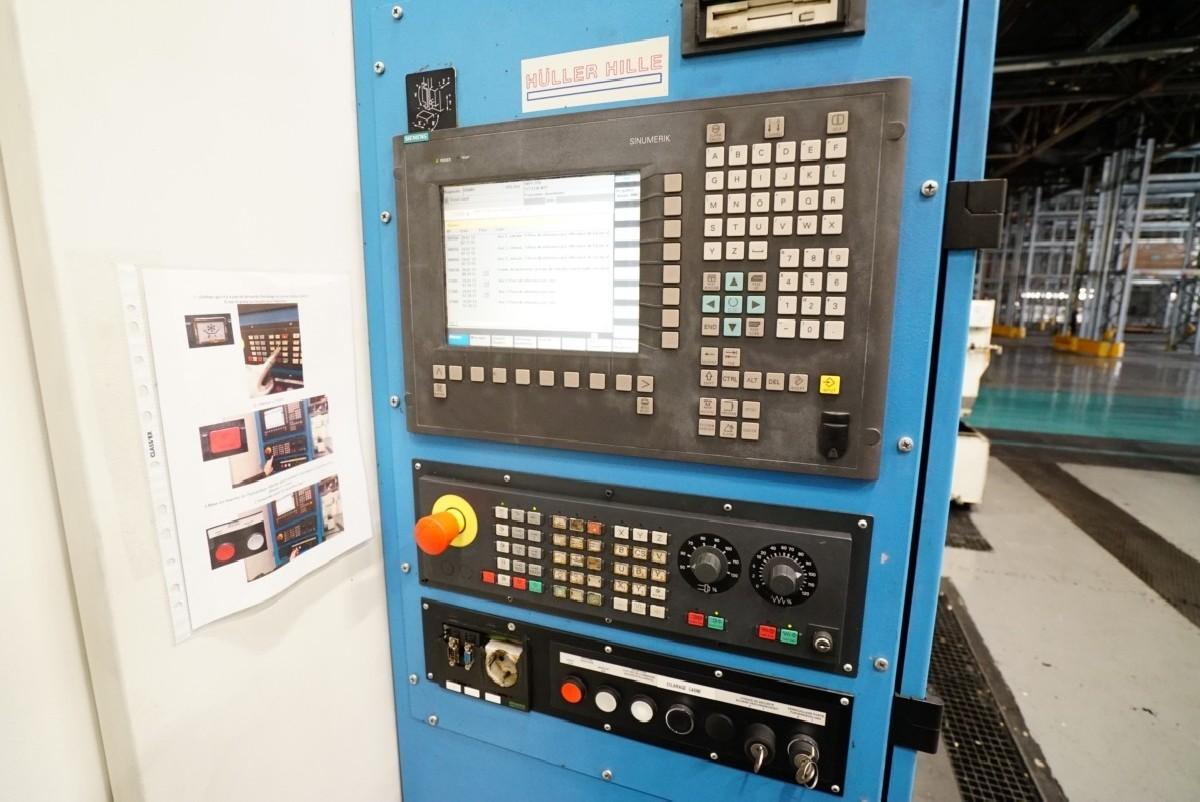 Обрабатывающий центр - горизонтальный HÜLLER-HILLE nbh 230 R фото на Industry-Pilot