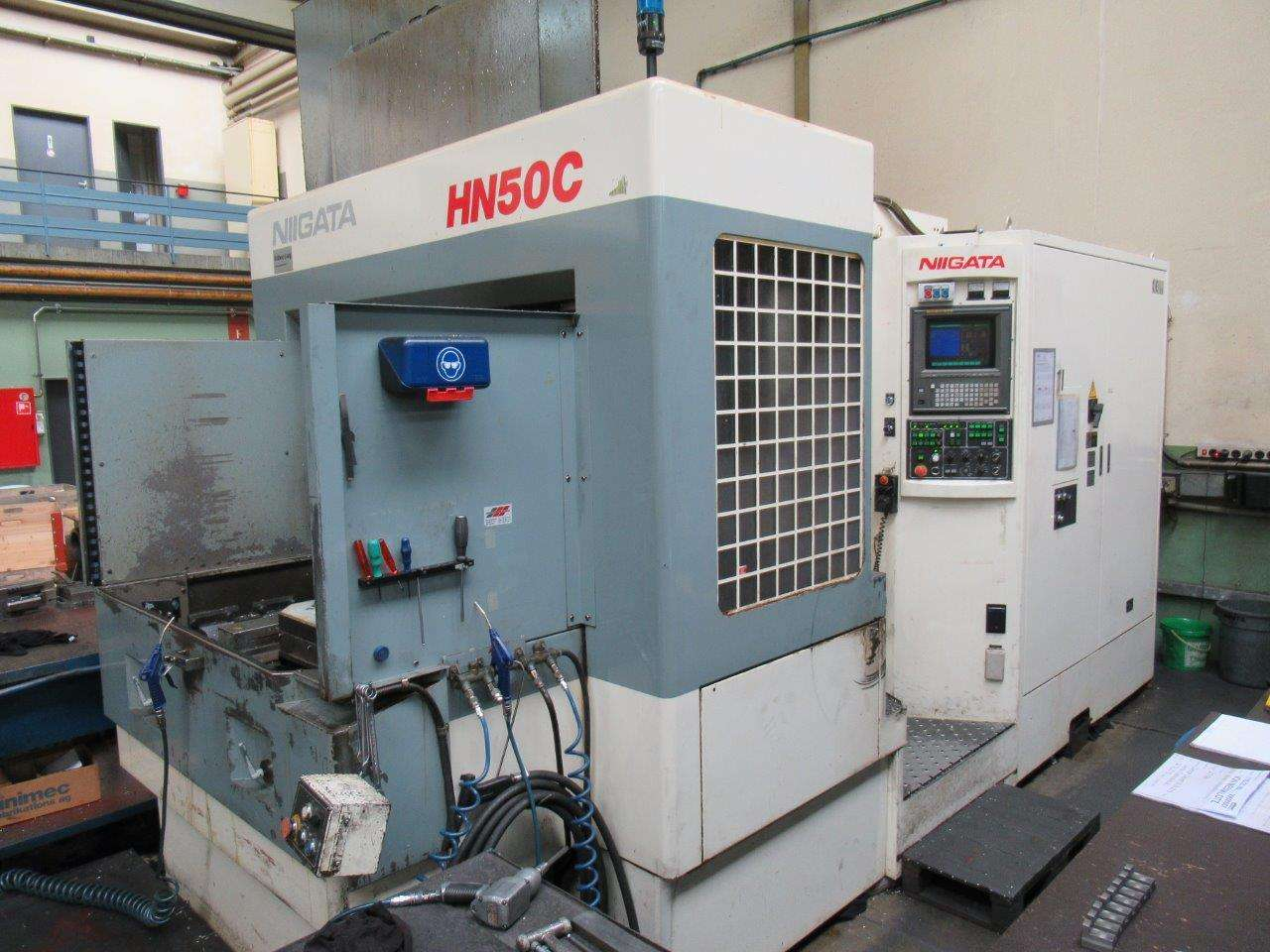 Machining Center - Horizontal Horizontal Bearbeitungszentrum Niigata HN50C фото на Industry-Pilot