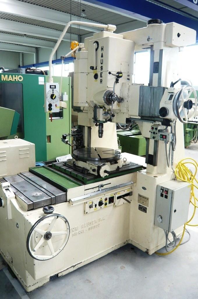 Jig Boring Machine - Vertical HAUSER Type 5 photo on Industry-Pilot