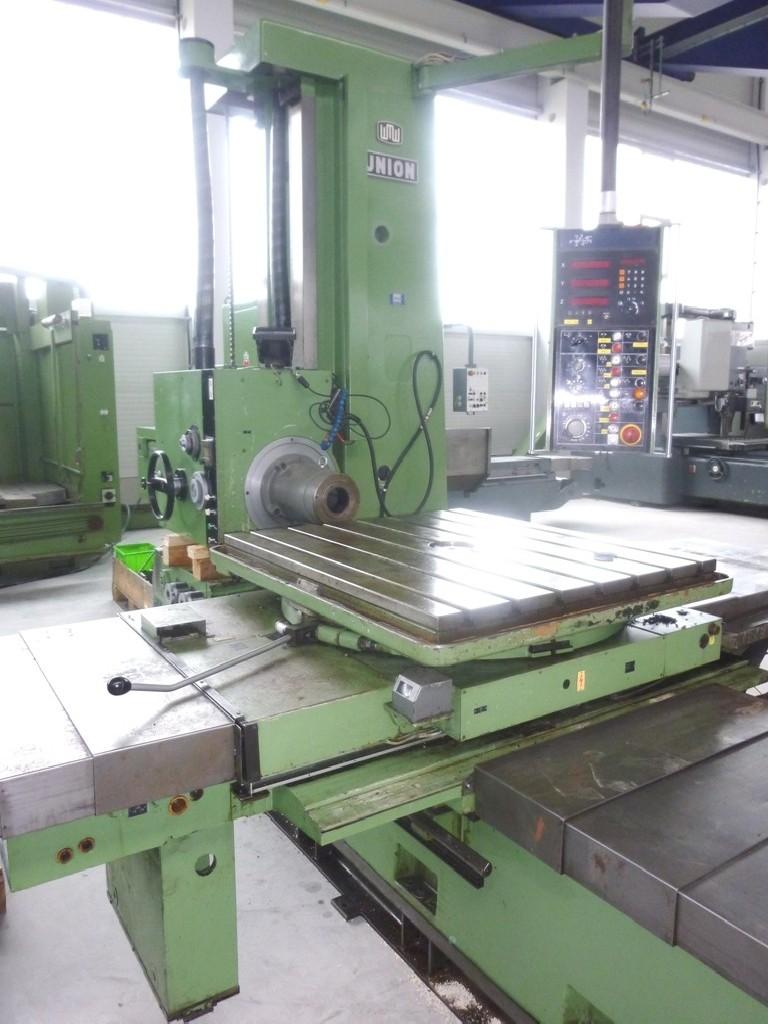 Horizontal Boring Machine WMW UNION BFT 90 3 at photo on Industry-Pilot