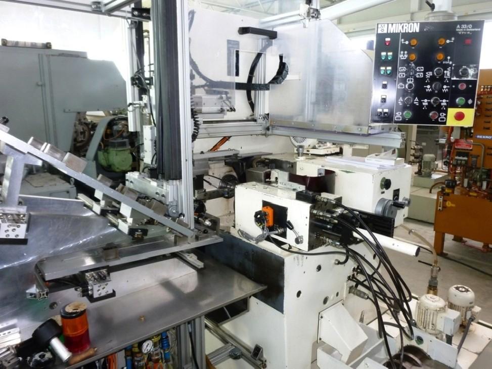 Зубофрезерный станок обкатного типа - гориз. MIKRON A 33 0 фото на Industry-Pilot