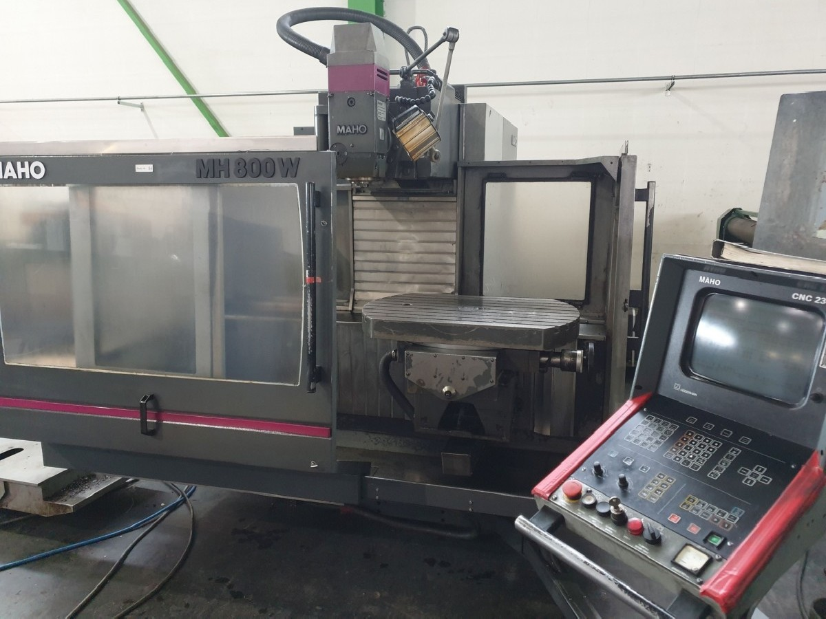 Toolroom Milling Machine - Universal MAHO MH 800W photo on Industry-Pilot