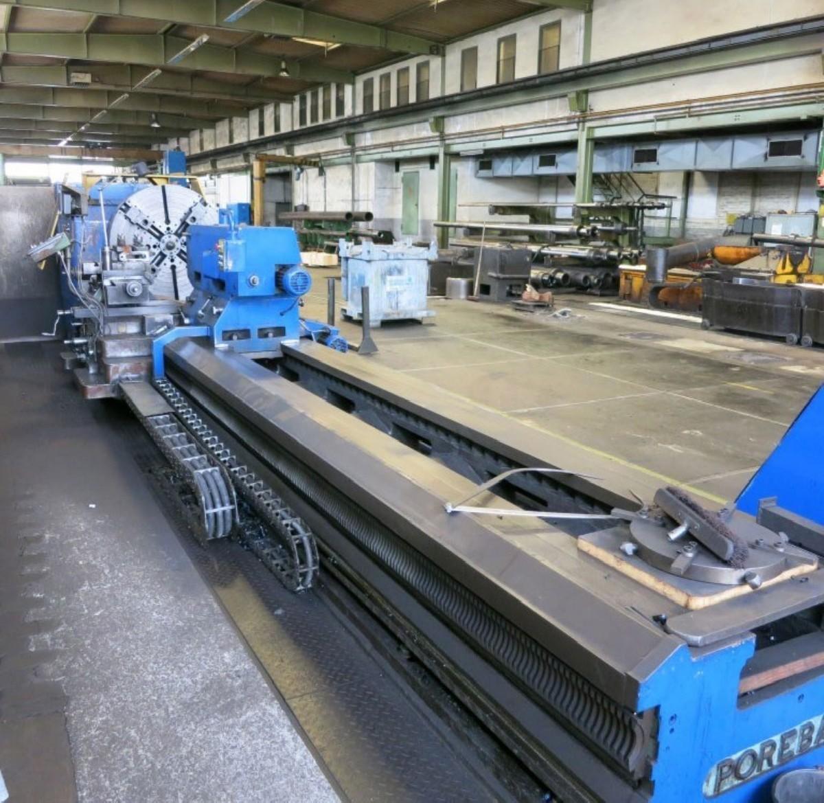 Тяжёлый токарный станок POREBA TCG 125 x 6000 Heidenhain фото на Industry-Pilot