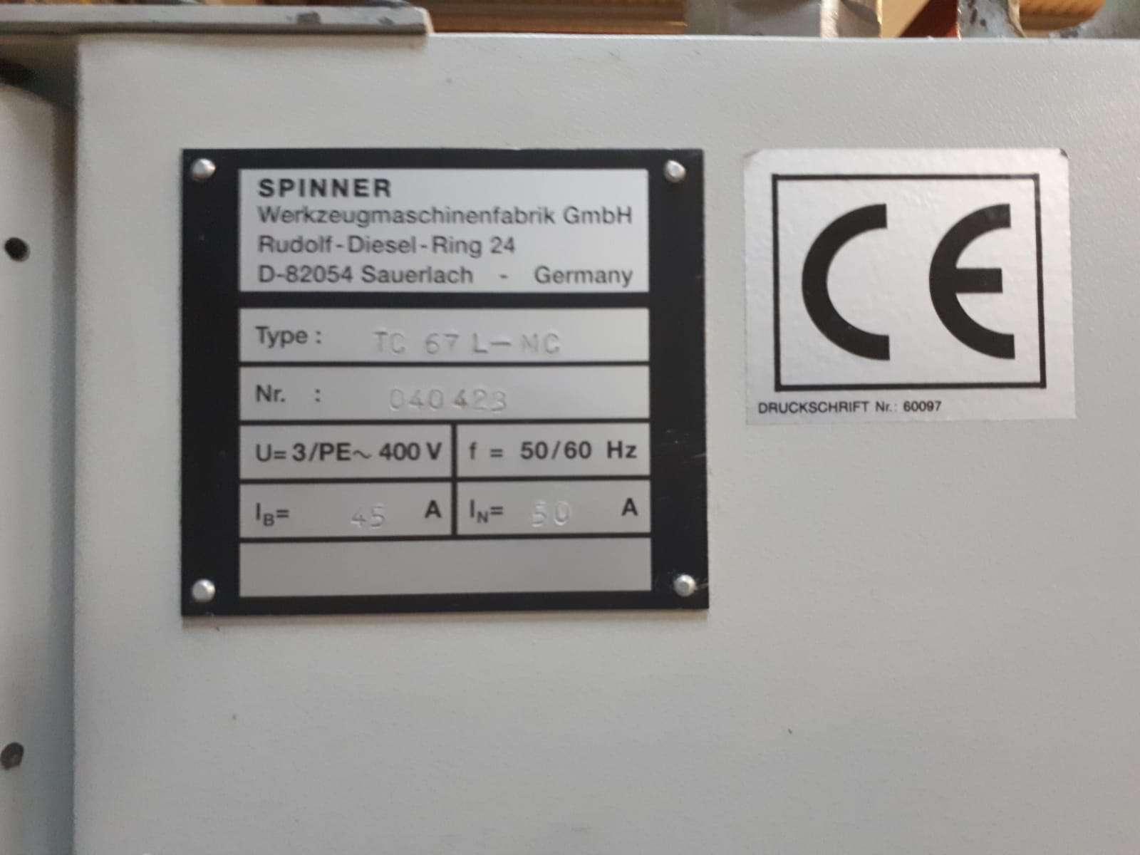 Токарный станок с ЧПУ Spinner TC 67 L MC фото на Industry-Pilot