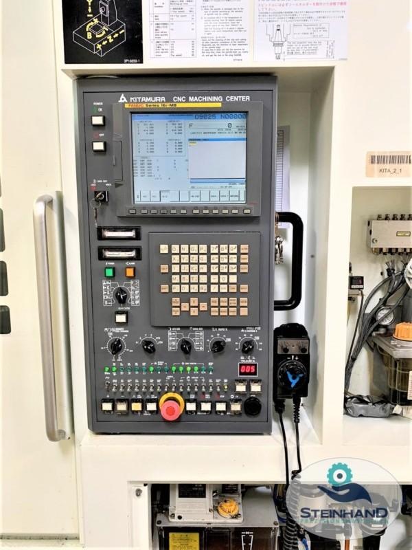 Milling Machine - Horizontal KITAMURA Mycenter HX 300if Heidenhain photo on Industry-Pilot