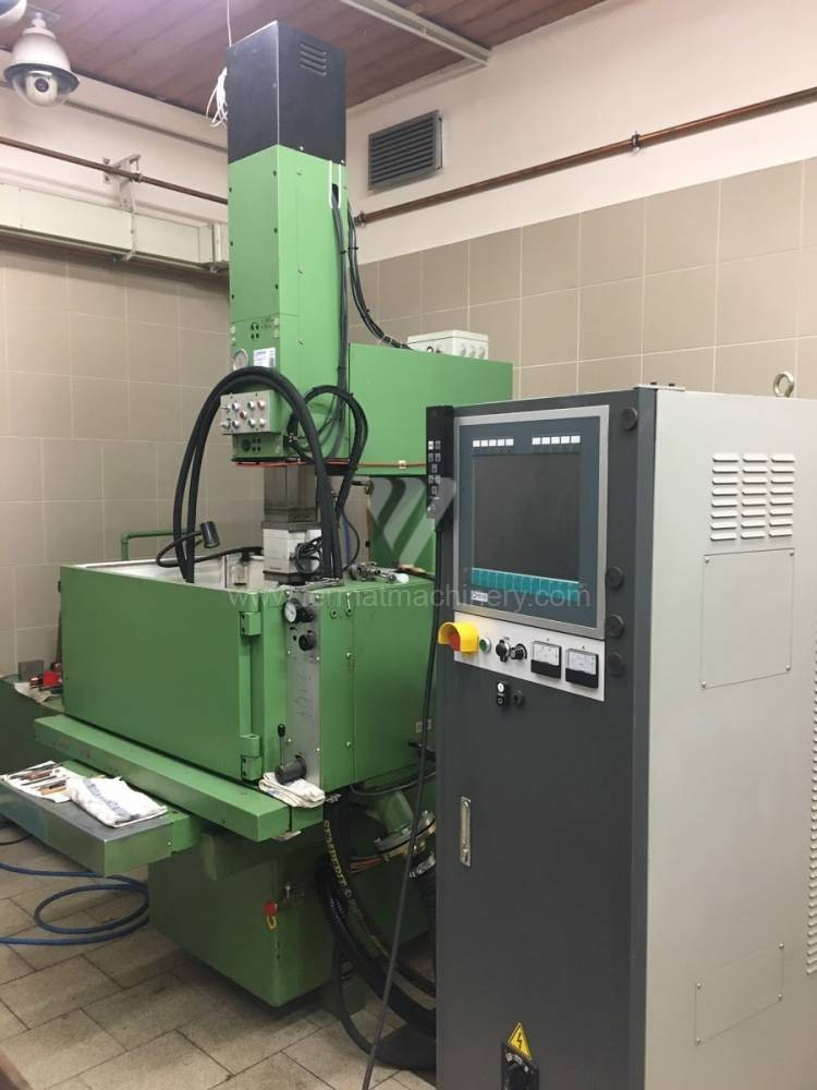 Cavity Sinking EDM Machine AGIE EMS3 Digital photo on Industry-Pilot