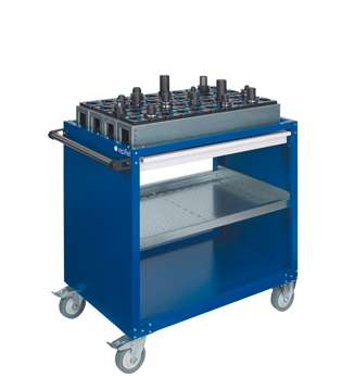 Toolroom Milling Machine - Universal Werkstattwagen Set -Z- WSW584 photo on Industry-Pilot