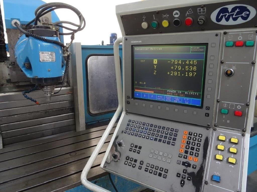 Продольно-фрезерный станок - универсальный MTE Kompakt plus фото на Industry-Pilot