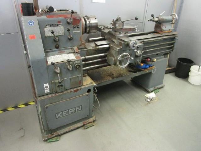Токарно-винторезный станок KERN D 18 фото на Industry-Pilot
