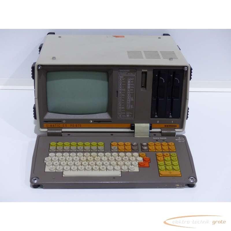 Siemens 6ES5675-0UA11 S5 PG675 Programmiergerät E Stand 17 photo on Industry-Pilot