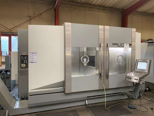 Machining Center - Vertical DMG DMF 220 linear фото на Industry-Pilot