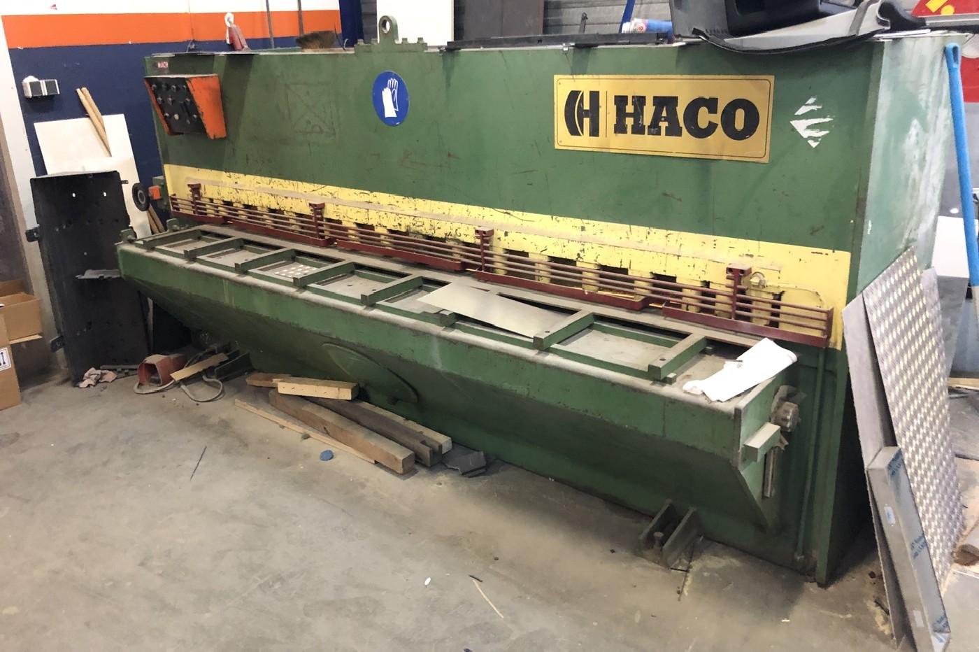 Hydraulic guillotine shear  HACO TS 306 photo on Industry-Pilot