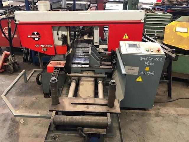 Ленточнопильный станок по металлу Pilous-TMJ PP 361 CNC фото на Industry-Pilot