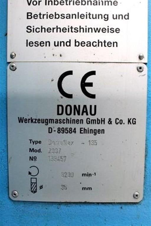 Скоростной радиально-сверлильный станок DONAU Donauflex 135 DIGITAL фото на Industry-Pilot