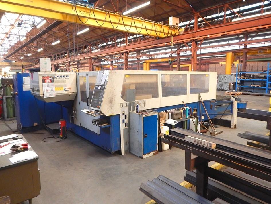 Laser Cutting Machine Trumpf L3030 3000 x 1500 mm 4kW photo on Industry-Pilot