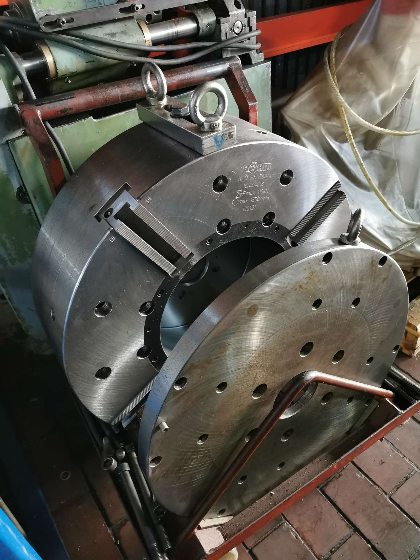 Clamping Chuck Viebacken Krafspannfutter photo on Industry-Pilot