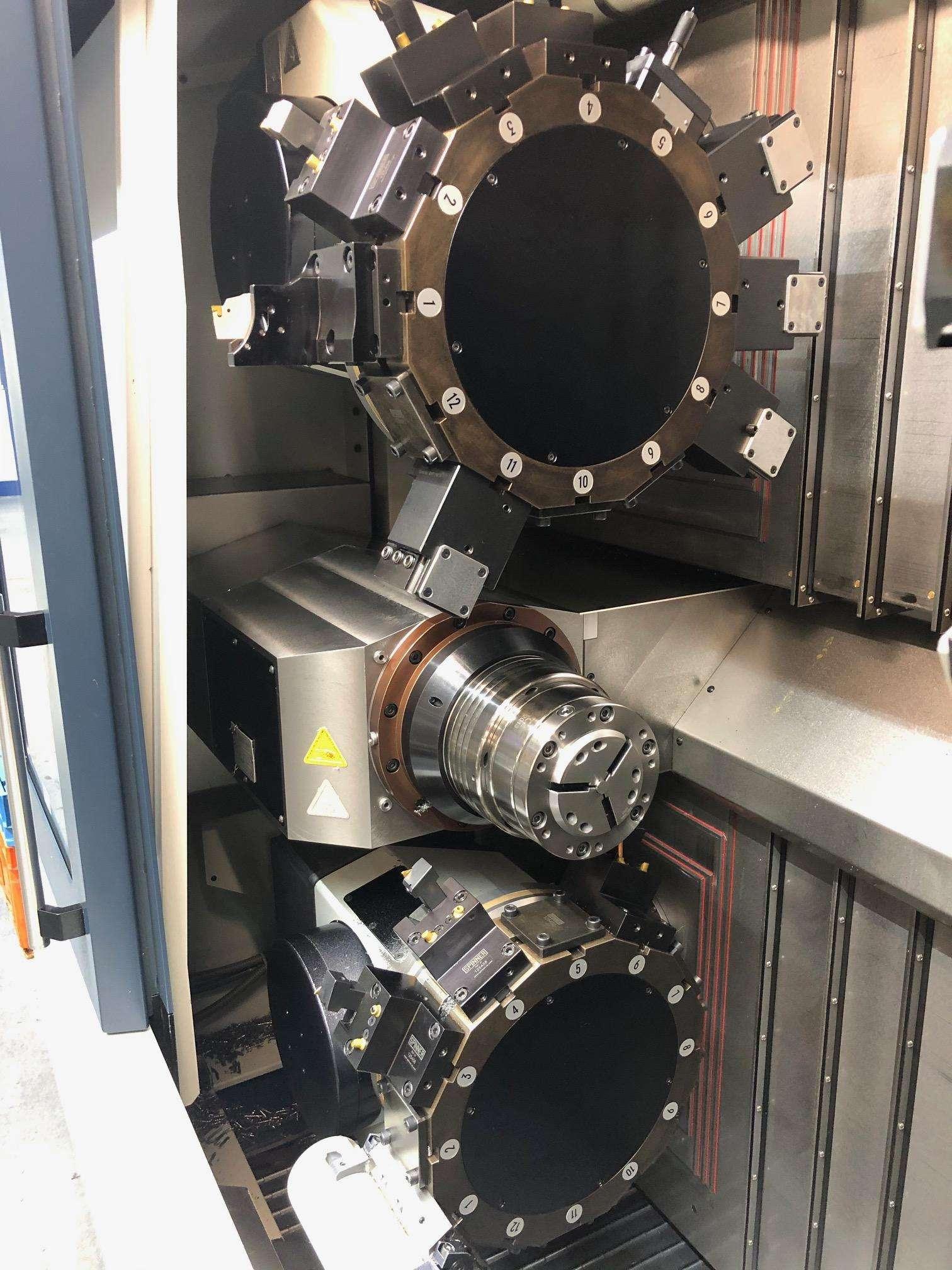 CNC Turning Machine CNC Drehmaschine Spinner TTS-65 Triplex photo on Industry-Pilot