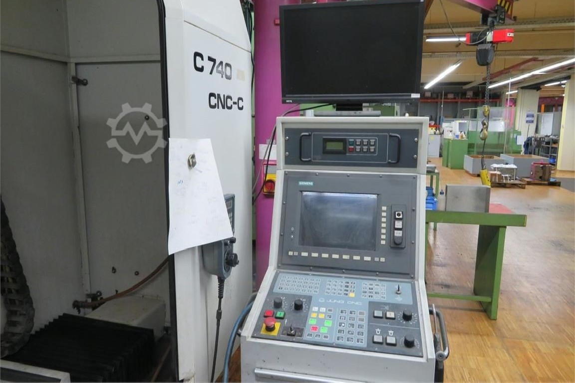 Surface Grinding Machine JUNG C 740 CNC-C photo on Industry-Pilot