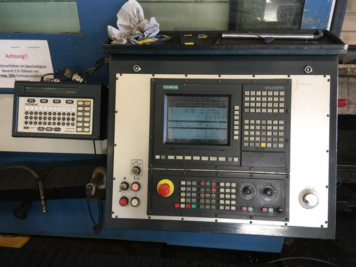 CNC Turning Machine - Inclined Bed Type HEYLIGENSTAEDT Heynumat 21 U 4000 photo on Industry-Pilot