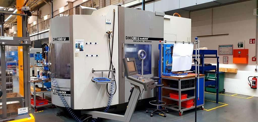 Machining Center - Universal DMG DMC 80 U