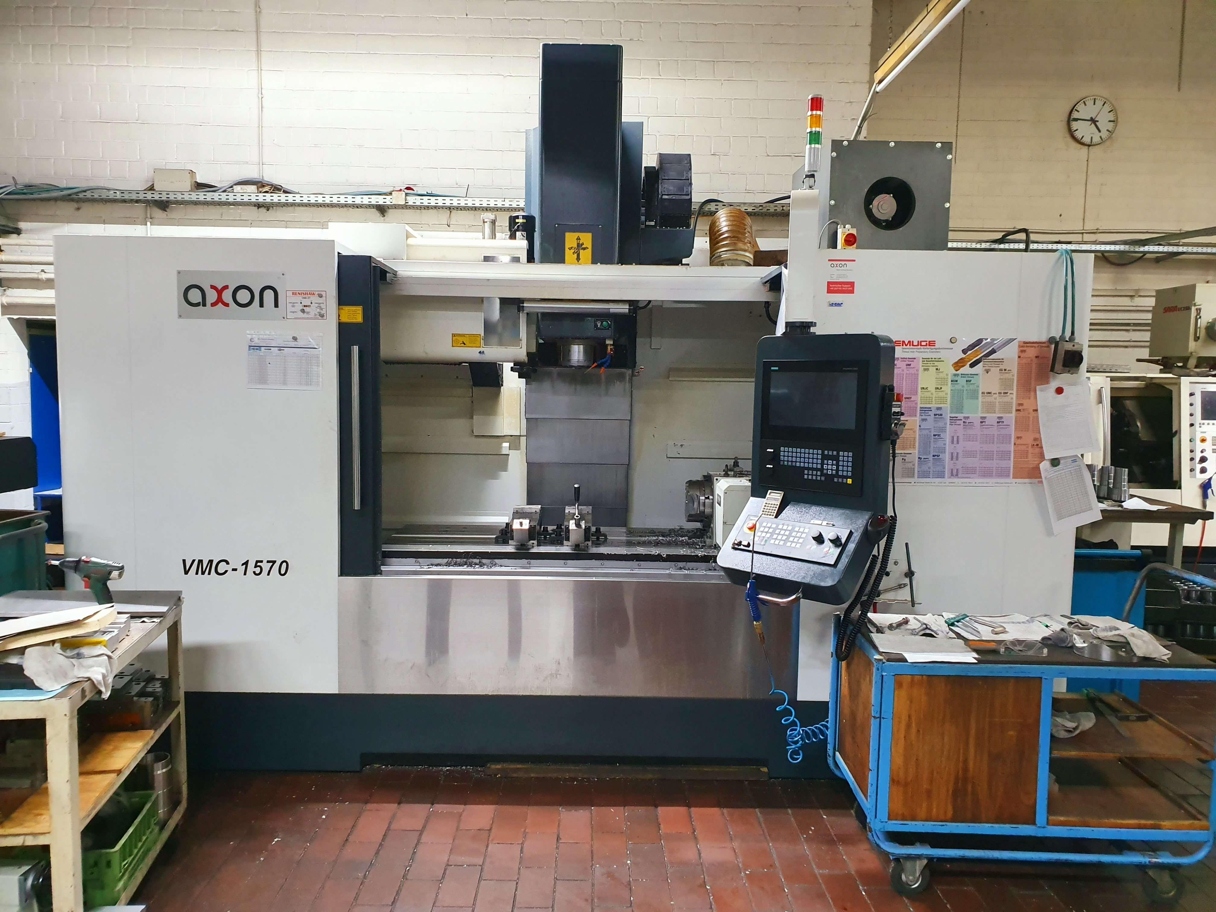Обрабатывающий центр - вертикальный Axon VCM 1750 фото на Industry-Pilot