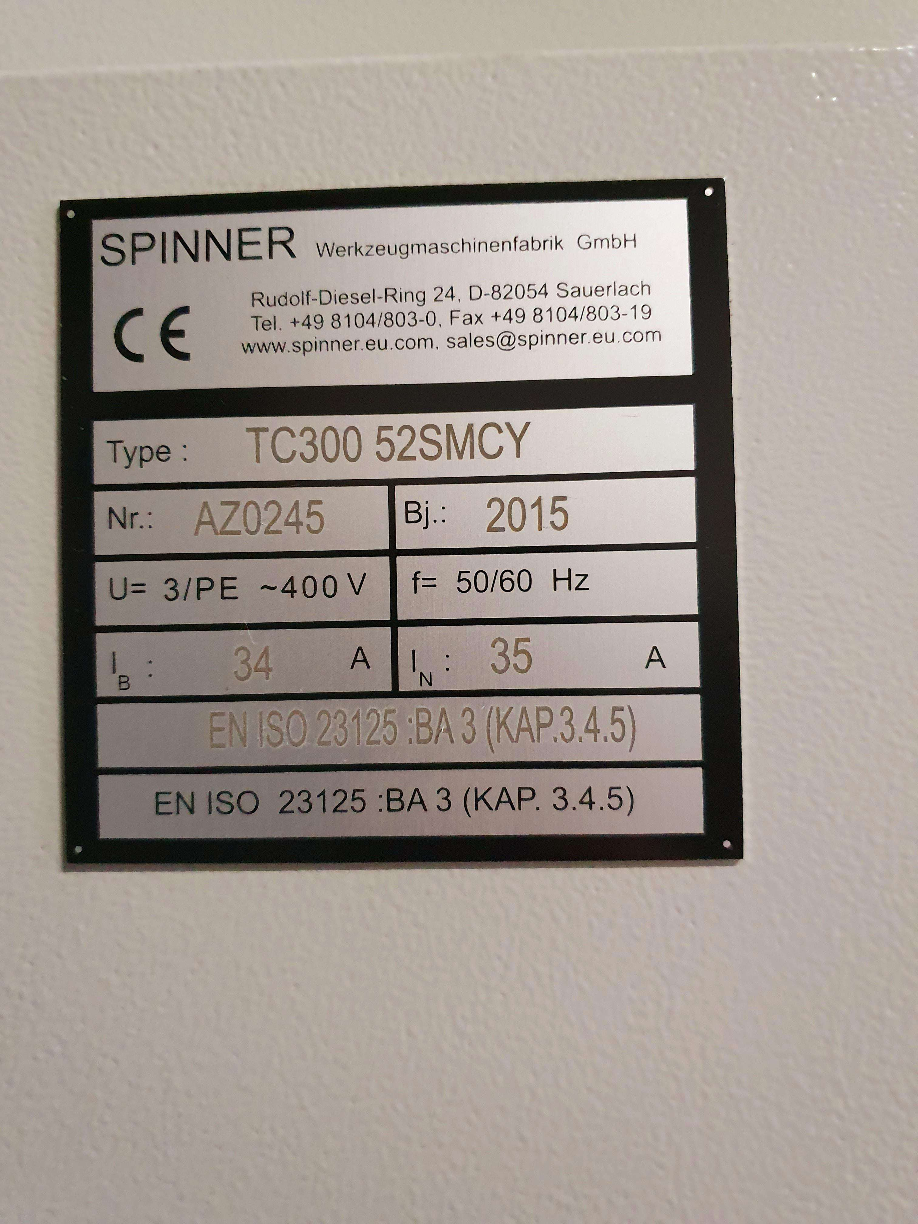 CNC Turning and Milling Machine Spinner TC 300 SMCY photo on Industry-Pilot