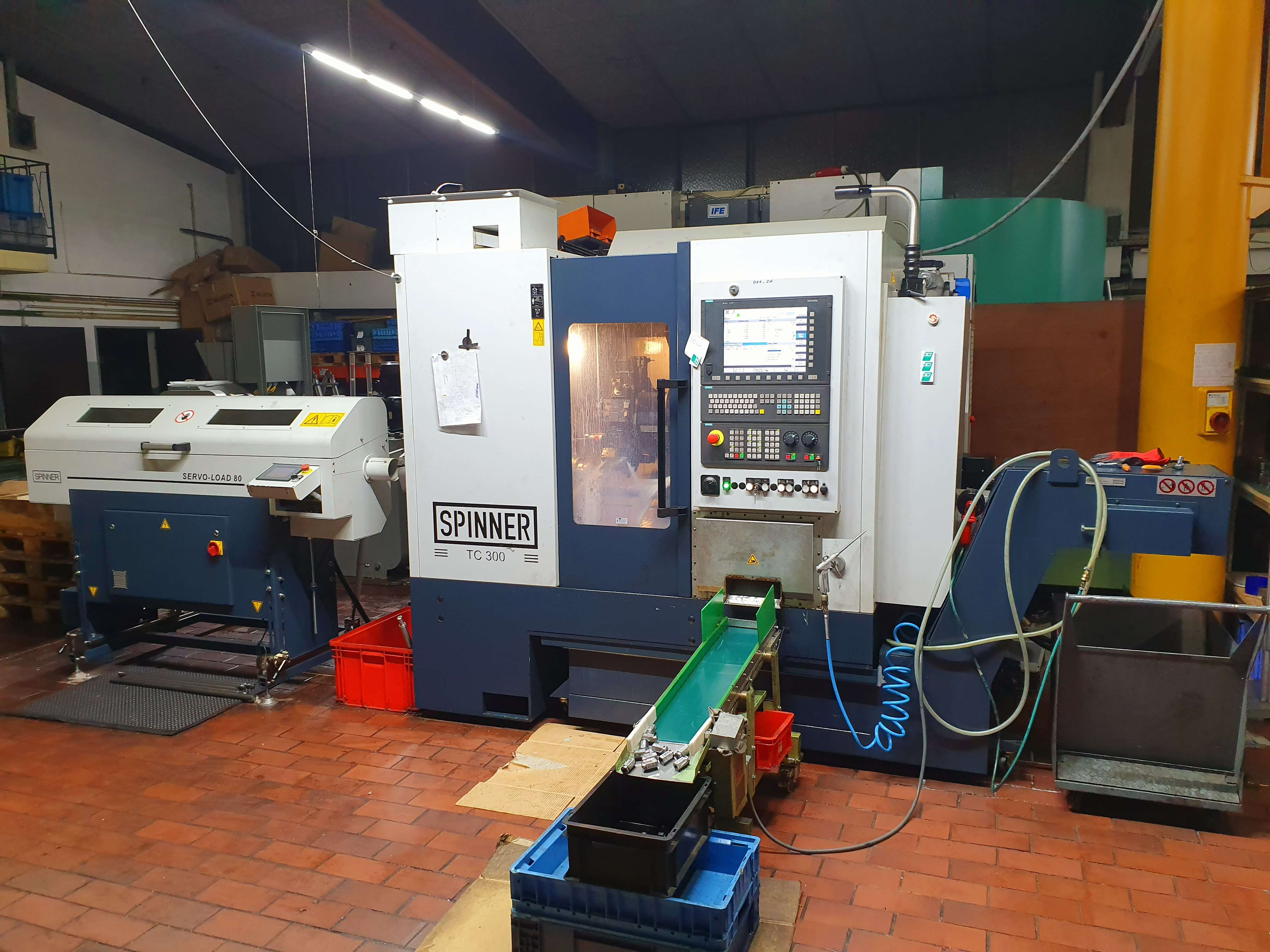 CNC Turning and Milling Machine Spinner TC 300 SMCY