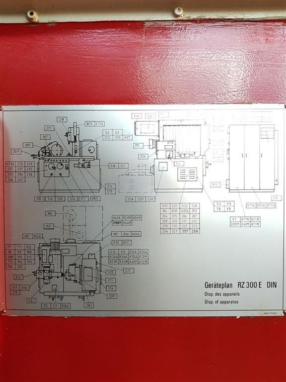 Зубошлифовальный станок торцовочный REISHAUER RZ 300 E 1988 фото на Industry-Pilot