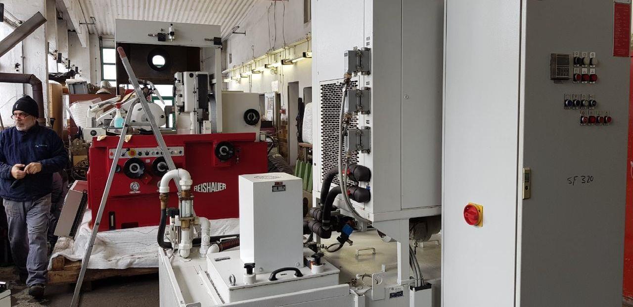 Зубошлифовальный станок торцовочный REISHAUER RZ -300 E фото на Industry-Pilot