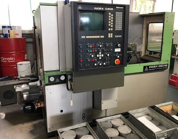CNC Turning Machine - Inclined Bed Type INDEX GSC 42 photo on Industry-Pilot