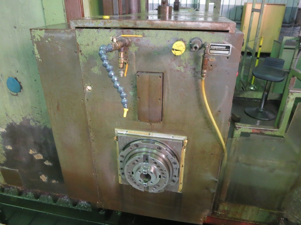 Горизонтальный расточный станок с неподвижной плитой - пиноль SCHARMANN Heavycut Heidenhain фото на Industry-Pilot